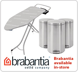 Brabantia available at Goddards Electrical